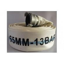 Vòi chữa cháy D65, 13 bar, 20m có khớp- China
