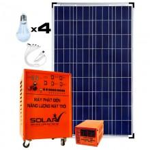 Bộ Máy phát điện năng lượng mặt trời CATASolar - 110W