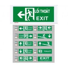 Đèn Exit Kentom ( 1mặt) KT-610